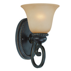 Craftmade Highland Place Mocha Bronze Sconce