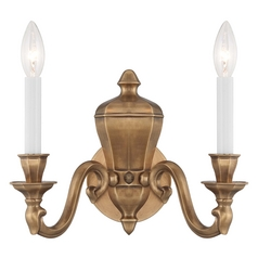 Sconce Wall Light in Vintage English Patina Finish