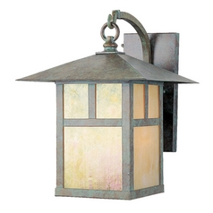 Livex Lighting Montclair Mission Verde Patina Outdoor Wall Light