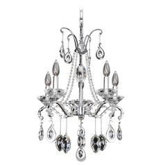 Allegri Torrelli 5-Light Chandelier in Chrome
