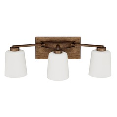 Capital Lighting Reid Rustic Bathroom Light