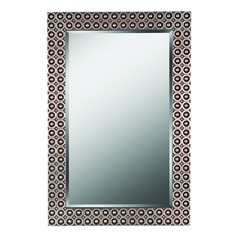 Bearings Rectangle 28-Inch Decorative Mirror by Kenroy Home