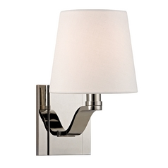 Hudson Valley Lighting Clayton Polished Nickel Sconce