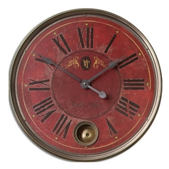 Uttermost Lighting Clock in Brass Finish 06037