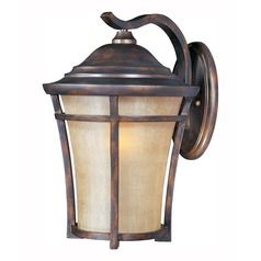 Copper outdoor wall lights copper exterior lighting maxim lighting balboa vx led copper oxide led outdoor wall light aloadofball Image collections