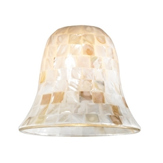 Mosaic Glass Shade - Lipless with 1-5/8-Inch Fitter Opening