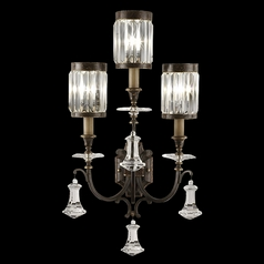 Fine Art Lamps Eaton Place Rustic Iron Sconce