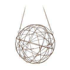 Aged Iron Wire Sphere - Smallall.