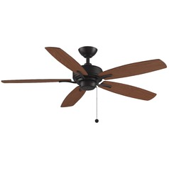 Fanimation Fans Aire Delux Dark Bronze Ceiling Fan Without Light