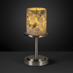 Justice Design Group Alabaster Rocks! Collection Table Lamp