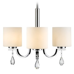 Golden Lighting Evette Chrome Mini-Chandelier