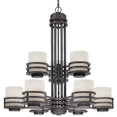 Dolan Designs Lighting Nine-Light Chandelier 2662-78