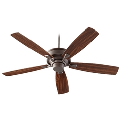 Quorum Lighting Alton Oiled Bronze Ceiling Fan Without Light