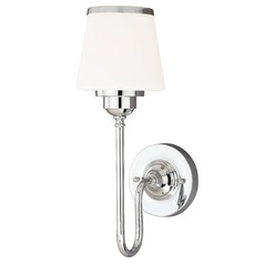 Kelsy Chrome Sconce by Vaxcel Lighting