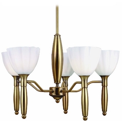 Lite Source Lighting Daffodil Mini-Chandelier