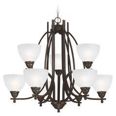 Sea Gull Lighting Vitelli Autumn Bronze Chandelier