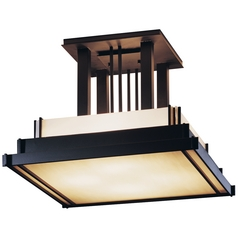 Four-Light Semi-Flush Ceiling Light