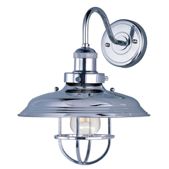 Maxim Lighting Mini Hi-Bay Polished Nickel Sconce