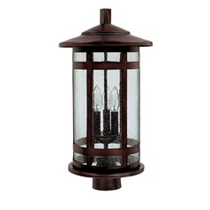 Capital Lighting Mission Hills Burnished Bronze Post Light