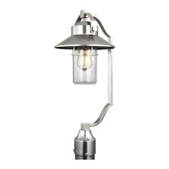 Feiss Lighting Boynton Painted Brushed Steel Post Light