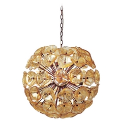 Modern Pendant Light in Bronze Finish