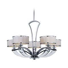 Maxim Lighting Metro Chrome Chandelier
