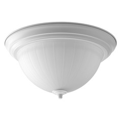 Progress Lighting LED Flush Mount White LED Flushmount Light