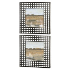 Uttermost Pastoral Framed Art, Set of 2