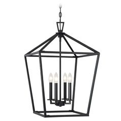 Savoy House Lighting Townsend Matte Black Pendant Light