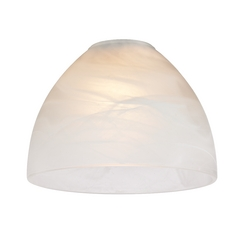 Alabaster Glass Shade - 1-5/8-Inch Fitter Opening
