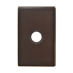 Emtek Hardware Oil Rubbed Bronze Doorbell Button