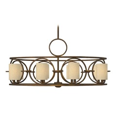Frederick Ramond Pandora Brushed Cinnamon Chandelier
