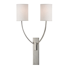 Hudson Valley Lighting Colton Polished Nickel Sconce