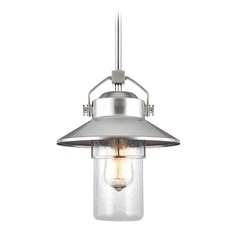 Feiss Lighting Boynton Painted Brushed Steel Outdoor Hanging Light
