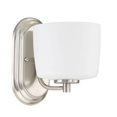 Craftmade Lighting Clarendon Brushed Polished Nickel Sconce