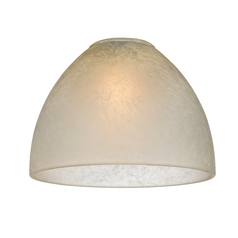 Glass Dome Shade - Lipless with 1-5/8-Inch Fitter Opening