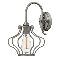 Hinkley Lighting Congress Antique Nickel Sconce