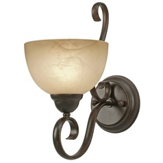 Golden Lighting Riverton Peppercorn Sconce