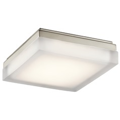 Elan Lighting Arston Brushed Nickel LED Flushmount Light
