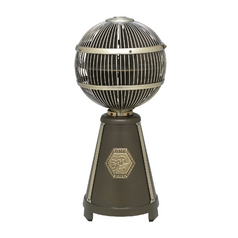 Fanimation Fans Vintage Table Top Oscillating Fan in Bronze / Brass Finishes FP3320OB