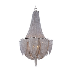 Maxim Lighting Chantilly Polished Nickel Pendant Light