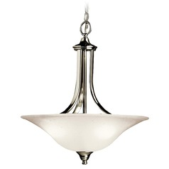 Kichler Lighting Kichler Pendant Light in Brushed Nickel Finish 3502NI
