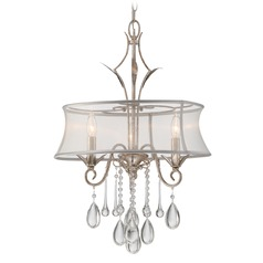 Quoizel Silhouette Gold Mini-Chandelier