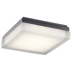 Elan Lighting Arston Bronze LED Flushmount Light