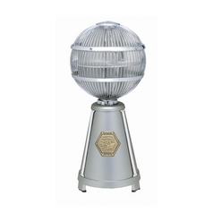 Vintage Table Top Desk Fan in Chrome / Satin Finishes