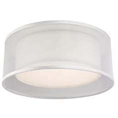 Modern Double Drum Ceiling Trim for Recessed Lighting