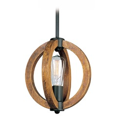 Maxim Lighting Bodega Bay Anthracite Mini-Pendant Light