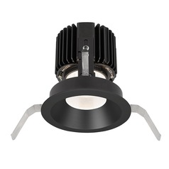 WAC Lighting Volta Black LED Recessed Trim