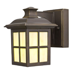 Design Classics Lighting Small Bronze Outdoor Wall Lantern Light - Energy Star Rated 9711ES-2-78