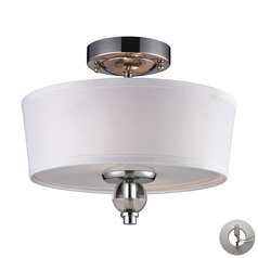 Elk Lighting Martina Polished Chrome Semi-Flushmount Light